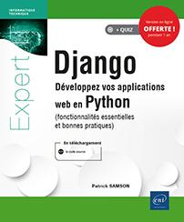Django - Développez vos applications web en Python (fonctionnalités essentielles et bonnes pratiques)