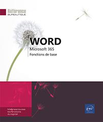 Word Microsoft 365 - Fonctions de base
