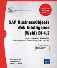 SAP BusinessObjects Web Intelligence (WebI) BI 4.3 -