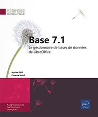 Base 7.1 - Le gestionnaire de bases de données de LibreOffice