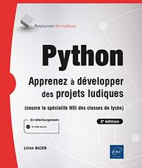 Python - Apprenez à développer des projets ludiques (2e édition)
