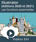 Illustrator (éditions 2020 et 2021) - Les fonctions essentielles | Editions ENI
