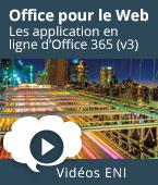 Office pour le Web - Les applications en ligne de Microsoft 365 (v3)   Editions ENI