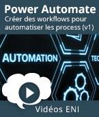 Power Automate - Créer des workflows pour automatiser les process (v1) | Editions ENI