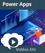 Initiation à Power Apps -  | Editions ENI